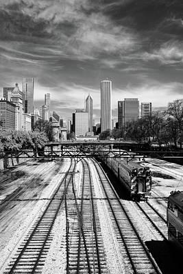 Photograph - Tracks Into The City by John McArthur