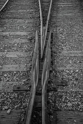 Photograph - Tracks by James Dudrow