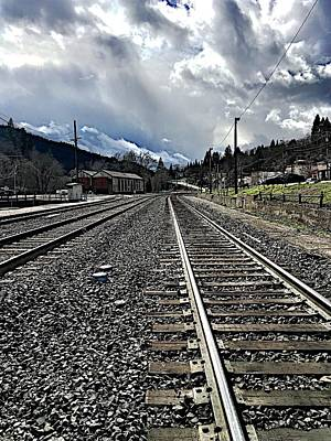 Photograph - Tracks by JoAnn Lense