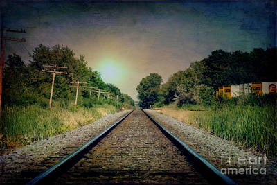 Photograph - Tracks by Joel Witmeyer