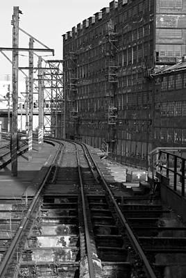 Photograph - Tracks by Michael Dorn