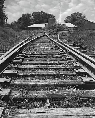 Photograph - Tracks by Mike McGlothlen