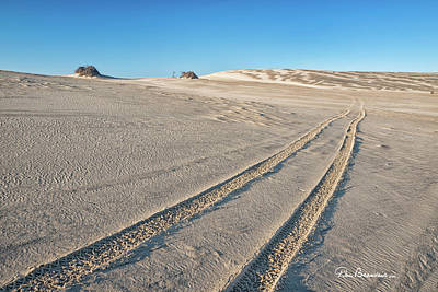 Photograph - Tracks On Jockey's Ridge 4746 by Dan Beauvais