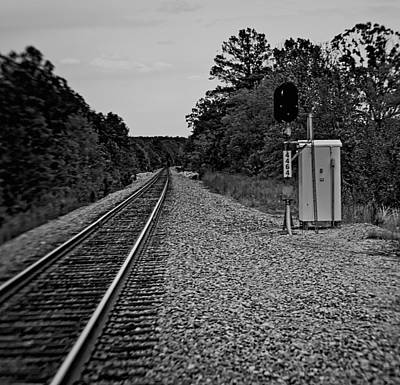 Photograph - Tracks by Philip A Swiderski Jr