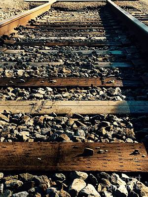 Photograph - Tracks by Robin Lewis