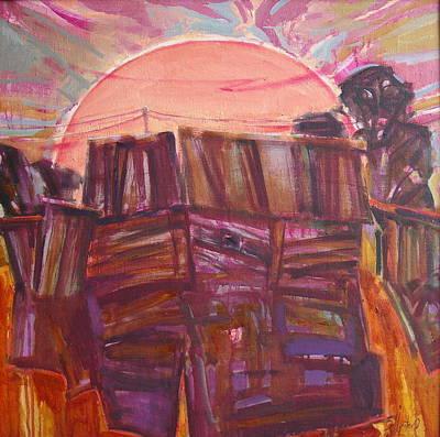 Painting - Tracks by Sergey Ignatenko