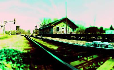 Photograph - Tracks Through Gordonsville by Jan W Faul