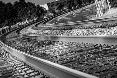 Photograph - Tracks Through Historic Buford by Doug Camara