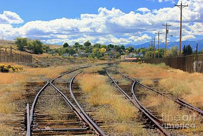 Photograph - Tracks To  by Douglas Miller