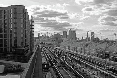 Photograph - Tracks To London by Julia Gavin