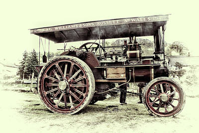 Photograph - Traction Engine by Andrew Munro