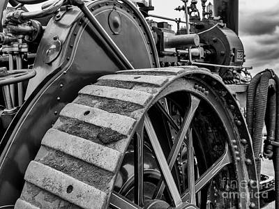 Photograph - Traction Engine by Jim Orr