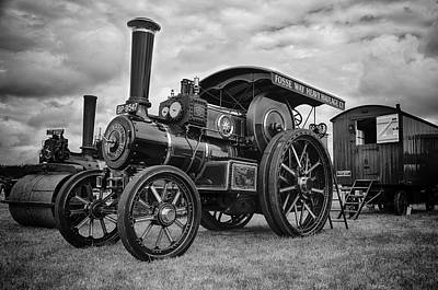 Photograph - Traction Engine by Stewart Scott