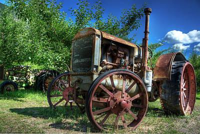 Photograph - Tractor 2 by Doug Matthews