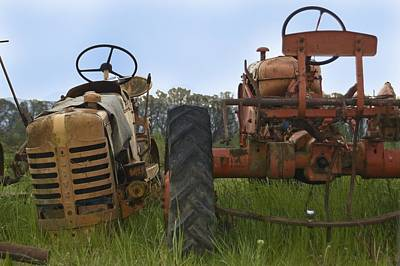 Photograph - Tractor 8 by Sara Stevenson