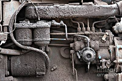 Photograph - Tractor Engine II by Stephen Mitchell