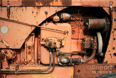 Photograph - Tractor Engine V by Stephen Mitchell