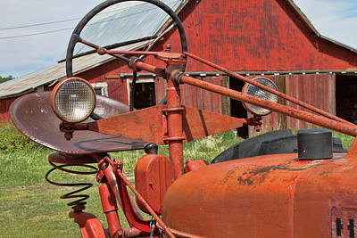 Photograph - Tractor Eyes by Alana Thrower