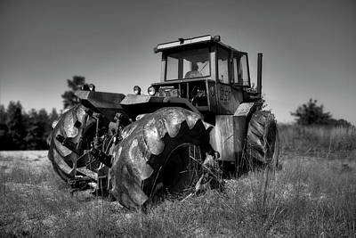 Photograph - Tractor In The Countryside by Ester Rogers