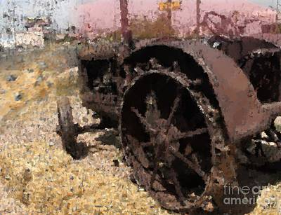 Digital Art - Tractor by Kelly McManus