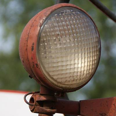 Photograph - Tractor Light by Toni Berry