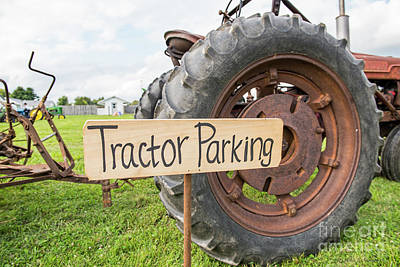 Photograph - Tractor Parking by David Arment