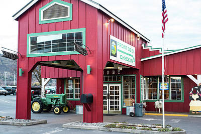 Photograph - Tractor Parking by Tom Cochran