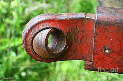 Photograph - Tractor Parts, Ball Joint by Debbie Portwood