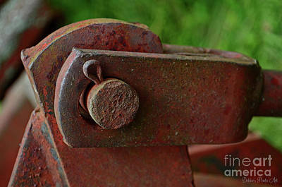 Photograph - Tractor Parts, Coder Pin by Debbie Portwood