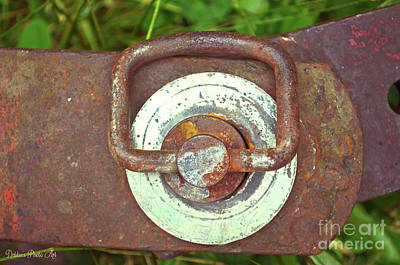 Photograph - Tractor Parts, Pin by Debbie Portwood