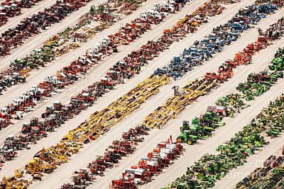 Photograph - Tractor Rainbow by John Ferrante