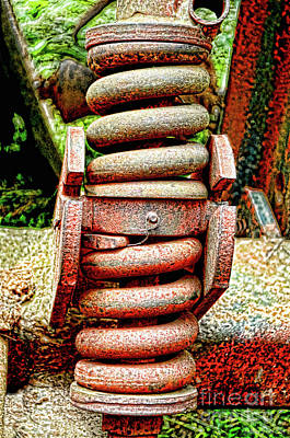 Photograph - Tractor Spring - Gritty by Debbie Portwood