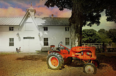 Photograph - Tractor Tales by Diana Angstadt