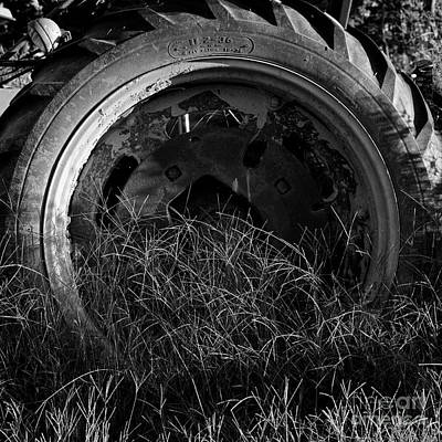 Photograph - Tractor Tire 2 by Patrick M Lynch