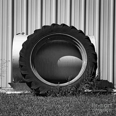 Photograph - Tractor Tire by Patrick M Lynch