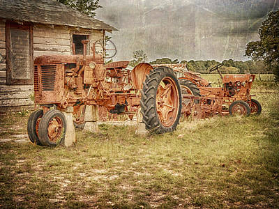 Photograph - Tractors by Charles McKelroy