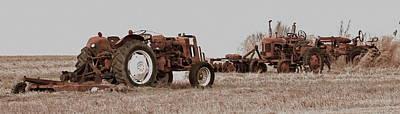 Photograph - Tractorsf by Alan Skonieczny
