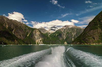 Photograph - Tracy Arm Fjord by David Halperin