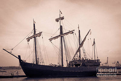 Photograph - Trade Ship by Dale Powell