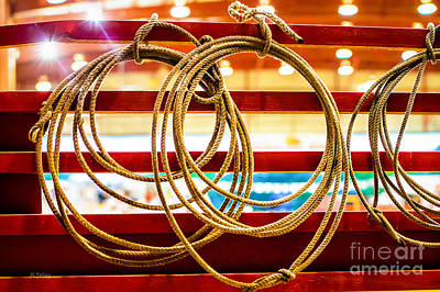 Photograph - Trade Tools Of A Rodeo Cowboy by Rene Triay Photography