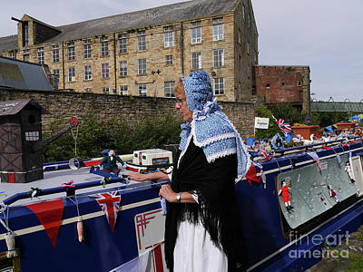Photograph - Traditional Bargee Bonnet by Brenda Kean