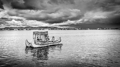 Photograph - Traditional Boat by Gary Gillette