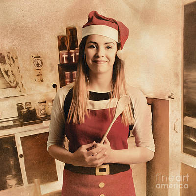 Illustration Art Photograph - Traditional Christmas Cooking by Jorgo Photography - Wall Art Gallery