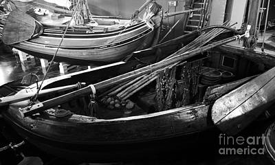 Photograph - Traditional Dutch Boats by Lexa Harpell