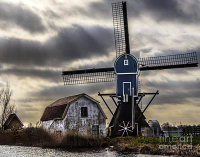 Photograph - Traditional Dutch Windmill by Alexandre Rotenberg