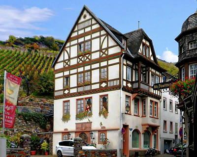 Minimalist Movie Quotes - Traditional German Residence by Anthony Dezenzio