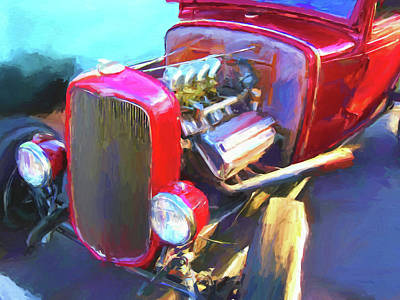 Digital Art - Traditional Hemi Dop by David King