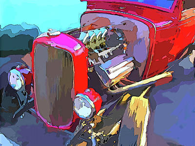 Digital Art - Traditional Hemi Pop by David King