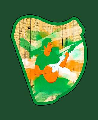 Digital Art - Traditional Irish Music Celebrated by Mark E Tisdale