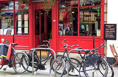Photograph - Traditional Irish Restaurant by John Rizzuto